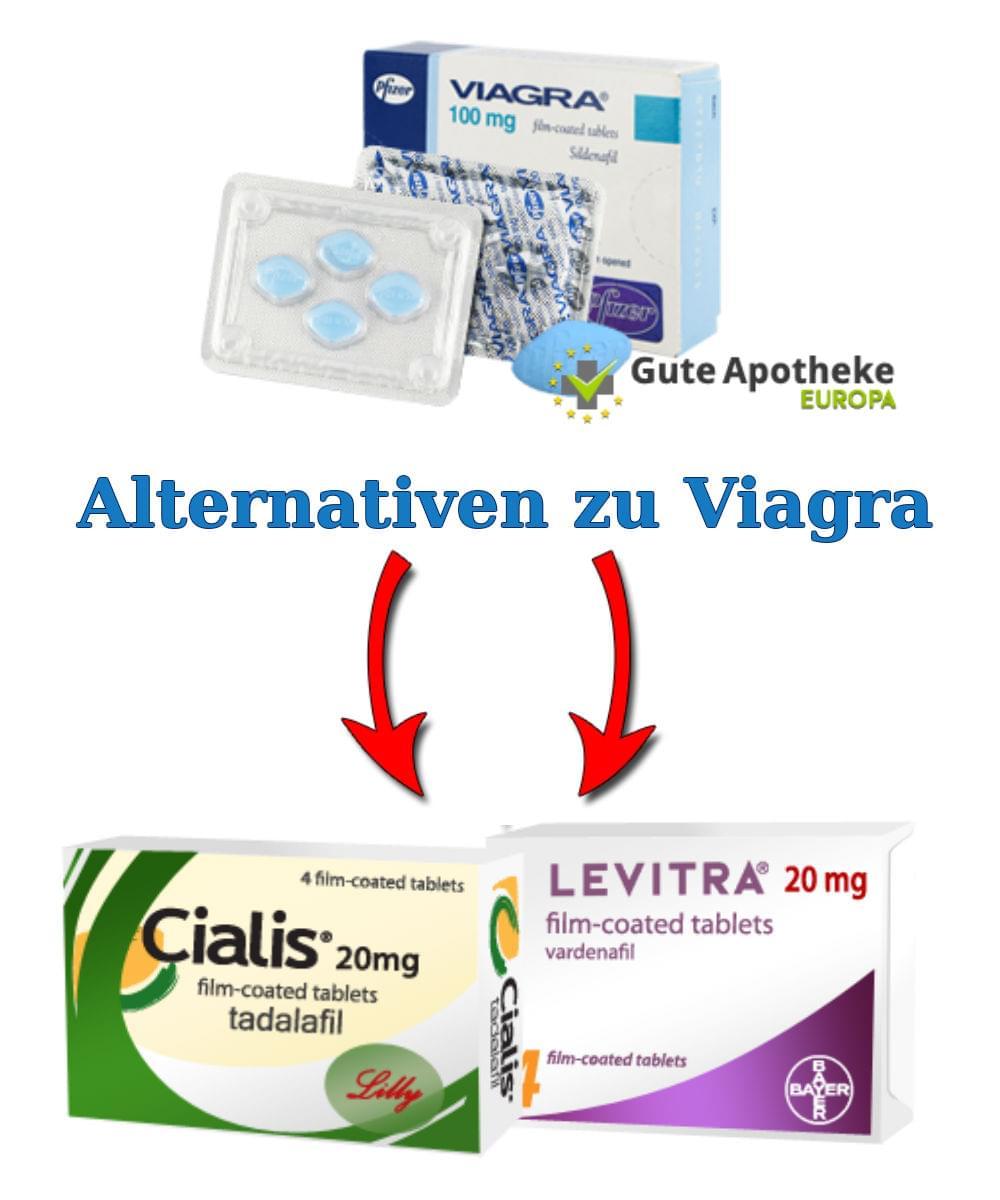 Viagra im Potenzmittel Vergleich » Effektiv oder Fake?
